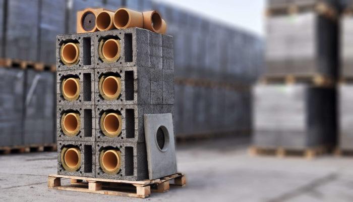 ceramiczne systemy kominowe oraz pustaki do budowy systemów wentylacyjnych